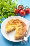 Quiche Food Stock Image