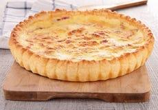 Quiche gastronome Images stock