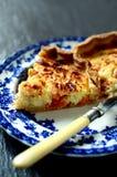 Quiche II do queijo e do tomate Fotos de Stock Royalty Free