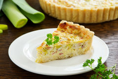 Quiche Lorraine Royalty Free Stock Photography