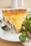 Quiche Lotharingen Royalty-vrije Stock Foto