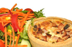 Quiche And Salad Stock Image