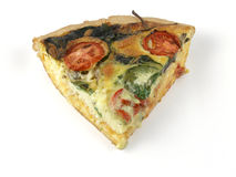 Quiche slice Royalty Free Stock Photography