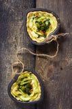 Quiche vegetal Imagens de Stock Royalty Free