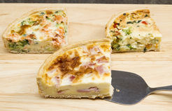 quiches fotografia royalty free