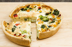 quiches obrazy royalty free