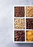 Quick breakfast cereals Stock Photo