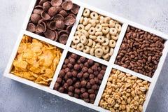Quick breakfast cereals Stock Image