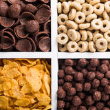 Quick breakfast cereals Royalty Free Stock Image