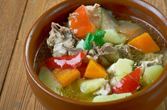 Quick Chicken Stew Royalty Free Stock Images