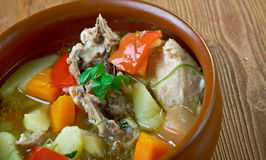 Quick Chicken Stew Royalty Free Stock Photography
