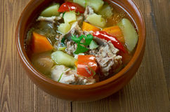 Quick Chicken Stew Royalty Free Stock Photos