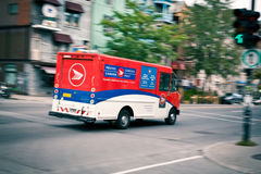Quick delivery - Canadian Post Stock Photography