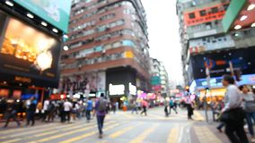 QUICK LIFE IN HONG KONG. FULL HD stock video footage