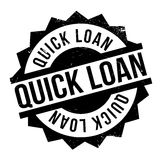 Quick Loan rubber stamp Royalty Free Stock Image