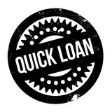 Quick Loan rubber stamp Stock Photos