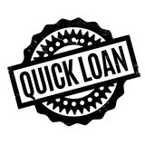 Quick Loan rubber stamp Royalty Free Stock Photos
