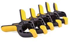 Quick lock clamp Stock Images