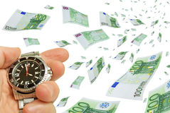 Quick money. Royalty Free Stock Photography