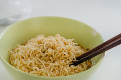 Quick ramen noodles Royalty Free Stock Images
