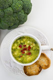 Quick soup. Royalty Free Stock Photography