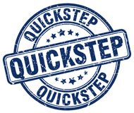 quick-step blauwe zegel Royalty-vrije Illustratie
