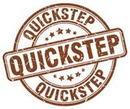 quick-step bruine zegel Stock Illustratie