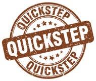 quick-step bruine zegel Vector Illustratie
