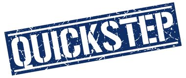 Quick-stepzegel Stock Illustratie