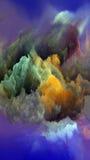 Quickening атмосферы чужеземца иллюстрация штока