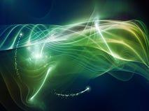 Quickening волн Стоковые Изображения RF