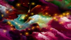 Quickening краски цифров Стоковые Фото