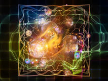 Quickening of Abstract Visualization Royalty Free Stock Photo