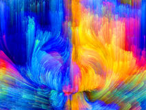 Quickening of Color Stock Photo
