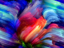 Quickening of Color Royalty Free Stock Photos