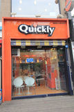 Quickly restaurant in Seoul Royalty Free Stock Image