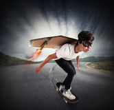 Quickly skate Royalty Free Stock Images