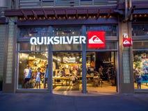 Quicksilver κατάστημα στη στο κέντρο της πόλης Disney Στοκ φωτογραφία με δικαίωμα ελεύθερης χρήσης