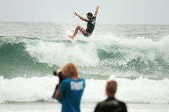 Quicksilver  Pro Joel Parkinson Royalty Free Stock Image