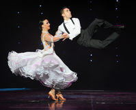 Quickstep-the Austria's world Dance Royalty Free Stock Images