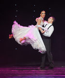 Quickstep-the Austria's world Dance Stock Images