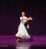 Quickstep-the Austria's world Dance Stock Images