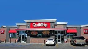QuickTrip стоковая фотография