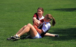 USA, AZ: Rare Sport - Quidditch > Fighting  Stock Photos