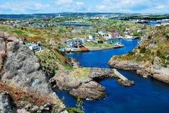 Quidi Vidi Newfoundland Canada Stock Afbeeldingen