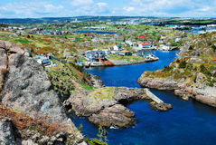 Quidi Vidi Newfoundland Canada Imagens de Stock
