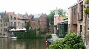 Quier corner of Gent Royalty Free Stock Images