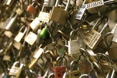 Quiera los bloqueos Foto de archivo libre de regalías