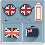 Quiera ver Londres Fotografía de archivo