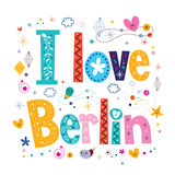 Quiero Berlín Fotografía de archivo libre de regalías